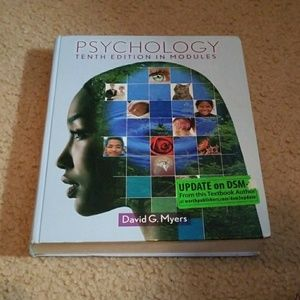 Other - Psychology tenth edition text book